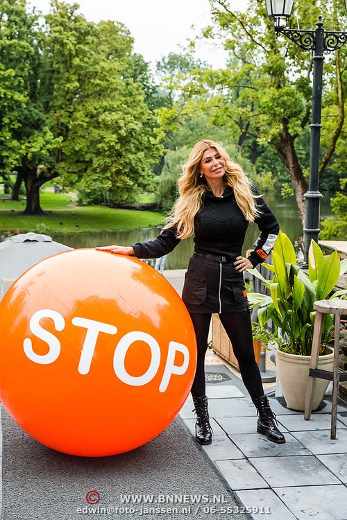 NLD/Amsterdam/20200903 - Kick off Stoptober 2020, Estelle Gullit