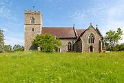 Village parish church of Saint Peter, Baylham, Suffolk, England, UK