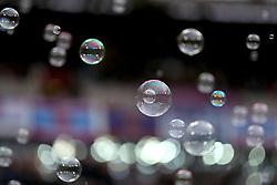 Bubbles at London Stadium