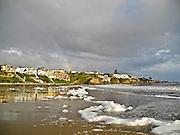 Newport Beach Coastline After A Rain Storm