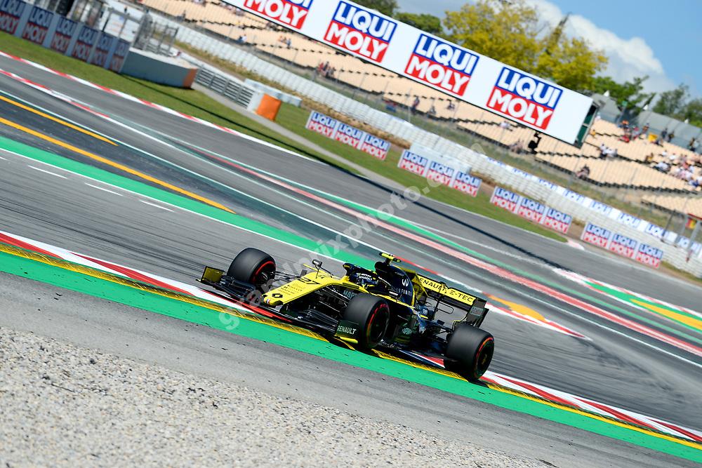 Nico Hulkenberg (Renault) during practice before the 2019 Spanish Grand Prix at the Circuit de Barcelona-Catalunya. Photo: Grand Prix Photo