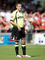 Photo: Steve Bond.<br />Scunthorpe United v Sheffield United. Coca Cola Championship. 01/09/2007. James Beattie