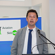 24.05.2018.       <br /> The Limerick Institute of Technology with Atlantic Air Adventures and funding from the Aviation Skillnet presented over forty certificates to Aviation professionals who have completed the Certificate in Aviation, The Aircraft Records Technician Level 7 and Part 21 Design, Level 7.<br /> <br /> Pictured at the event was Don Salmon, CAE Parc Aviation.<br /> <br /> LIT in partnership with Atlantic Air Adventures, CAE Parc Aviation, Part 21 Design and industry experts such as Anton Tams, GECAS, Don Salmon, CAE Parc Aviation and Mick Malone, Part 21 Design have developed and deliver these key training programmes with funding for aviation companies provided by The Aviation Skillnet.<br /> <br /> . Picture: Alan Place