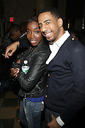 l to r: Estelle and Ryan Leslie at John Legend Presents Vaughn Anthony at SOB's, the second artis off his label ' HomeSchool Records'  in New York City on May 14, 2009