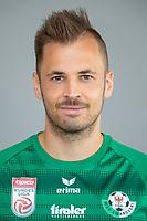 Download von www.picturedesk.com am 16.08.2019 (14:06). <br /> ABD0093_20190710 - WATTENS - ÖSTERREICH: Benjamin Pranter am Mittwoch, 10. Juli 2019, anl. eines Fototermins des Bundesliga-Fußball-Vereins WSG Swarovski Tirol in Wattens. - FOTO: APA/EXPA/JOHANN GRODER  _ - 20190710_PD2503