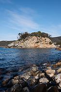 "Elba Island. ""La Paolina"" rock. Little rock, almost micro-island dedicated to Napoleon's sister."