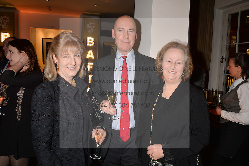 Left to right, Countess Alexander of Tunis, Charles Kidd editor of Debrett's Peerage and Lady Celestria Hale  at the Debrett's 500 Party recognising Britain's 500 most influential people, held at BAFTA, 195 Piccadilly, London England. 23 January 2017.