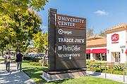 University Center Signage