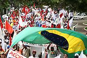 Belo Horizonte_MG, Brasil...Manifestacao do encontro de movimentos socias contra a 47a reuniao anual do BID...The social movements manifestation against the 47th annual meeting of the BID...Foto: LEO DRUMOND / NITRO.