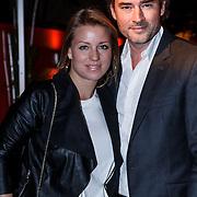 NLD/Blaricum/20131103 - Benefietveiling St. Free a Girl red Sun, Jeroen Nieuwenhuize en partner Kayla Bredewold