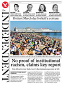 March 31, 2021 (UK): Front-page: Today's Newspapers In United Kingdom