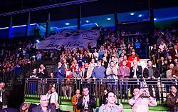 13.04.2013, Multiversum, Schwechat, AUT, EU Meisterschaft im Mittelgewicht, Roberto Santos (ESP) vs Marcos Nader (AUT), im Bild die Fans // during the EU Championship boxing fight in middleweight between Roberto Santos (ESP) and Marcos Nader (AUT) at the Multiversum, Schwechat, Austria on 2013/04/13. EXPA Pictures © 2013, PhotoCredit: EXPA/ Sebastian Pucher