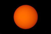 Image of the Sun using a Questar Telescope