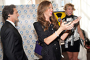 LAWRENCE BENDER; HEATHER KERZNER; ASSIA WEBSTER, Gala screening of COUNTDOWN TO ZERO, Bafta. Piccadilly. London. 21 June 2011. <br /> <br />  , -DO NOT ARCHIVE-© Copyright Photograph by Dafydd Jones. 248 Clapham Rd. London SW9 0PZ. Tel 0207 820 0771. www.dafjones.com.