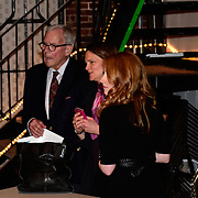 Tom Brokaw during backstage meet/greet after speaking at a Writers on a New England Stage show at The Music Hall in Portsmouth, NH