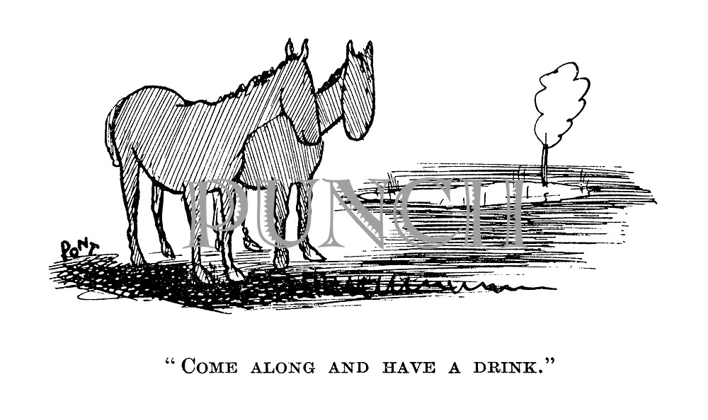 """"""" Come along and have a drink."""""""