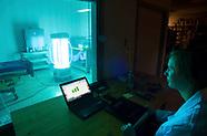 Ultra Violet Robot Hospital Room Cleaner