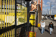 A Hand Car Wash business local to the new 2012 Olympic Park zone on the A12 road through Stratford, East London.