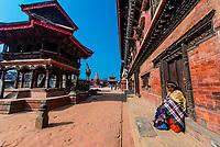 Durbar Square, Bhaktapur, Kathmandu Valley, Nepal.