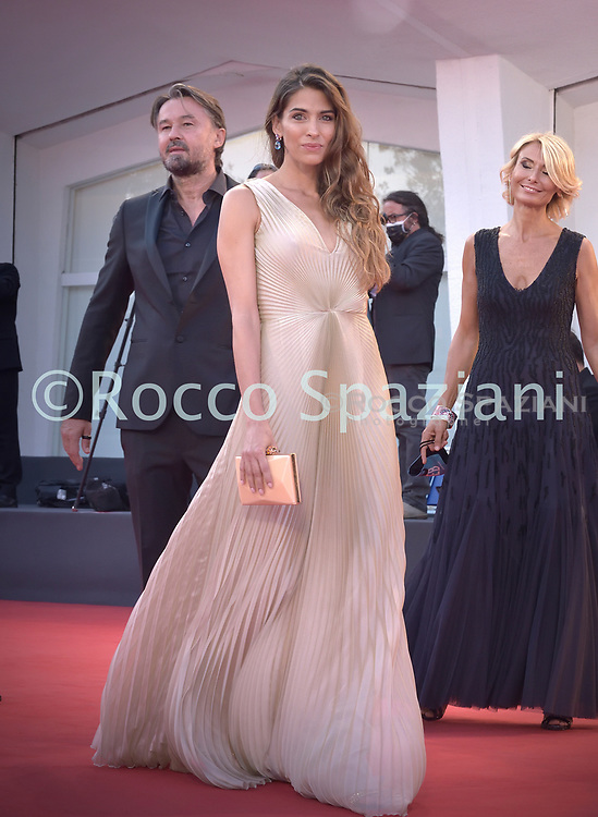 """VENICE, ITALY - SEPTEMBER 10:  Ariadna Romero walks the red carpet ahead of the movie """"Nuevo Orden"""" (New Order) at the 77th Venice Film Festival on September 10, 2020 in Venice, Italy.<br /> (Photo by Rocco Spaziani)"""
