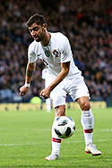 Portugal defender Ruben Dias (6) (Benfica)  during the Friendly international match between Scotland and Portugal at Hampden Park, Glasgow, United Kingdom on 14 October 2018.