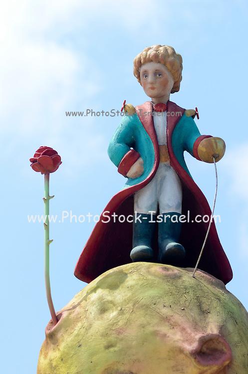 Figurine of The Little Prince (Le Petit Prince), by Antoine de Saint-Exupéry