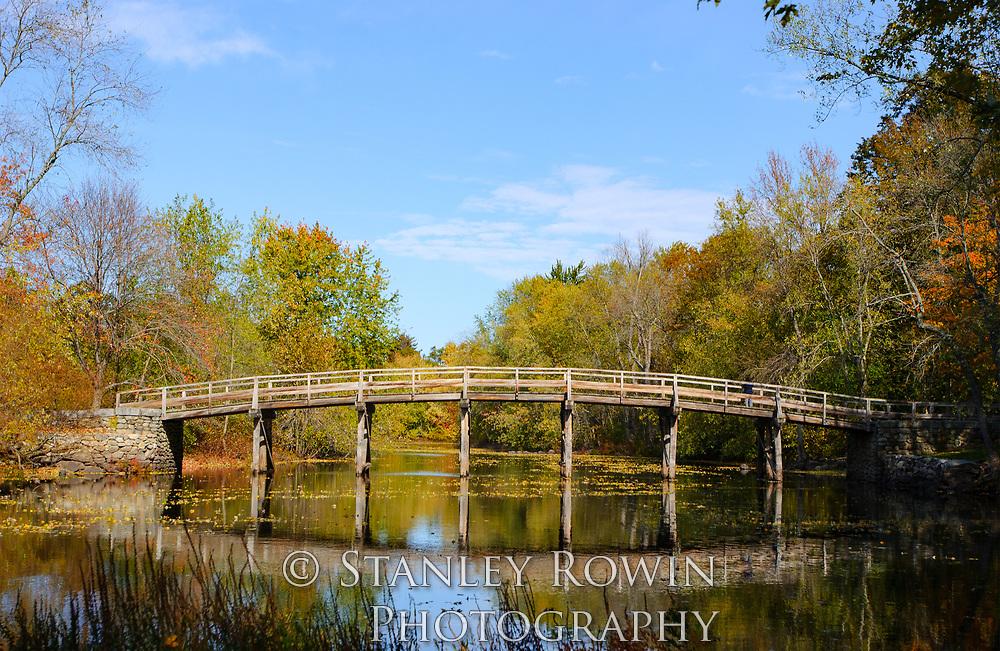 Concord Old North Bridge