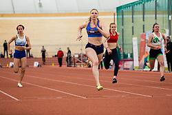 Maja Mihalinec during Slovenian Indoor Championship, Olympic centre Novo Mesto, 13 February 2021, Novo Mesto, Slovenia. Photo by Grega Valancic / Sportida