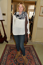 ANNA WINSLET sister of Kate Winslet at The House of Britannia reception hosted by Lady Delves Broughton at 42 Berkeley Square, London on 26th June 2014.