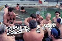Széchenyi thermal baths, Thermal Baths,  Budapest. Hungary