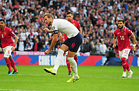 Football - 2018 / 2019 UEFA European Championships Qualifier - Group A: England vs. Bulgaria<br /> <br /> Harry Kane of England scoring goal no 5 and his hat trick from the penalty spot, at Wembley Stadium.<br /> <br /> COLORSPORT/ANDREW COWIE