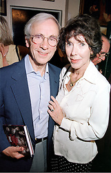 MR & MRS ANDREW SACHS, he is the actor, at a party in London on 12th September 2000.OGU 84
