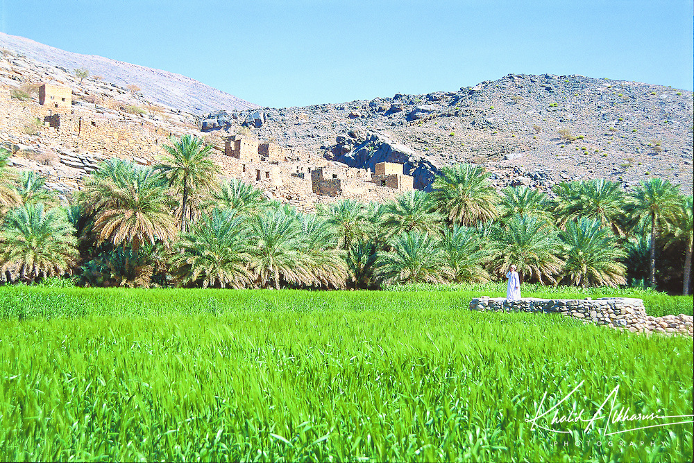 Wadi Ghul old village at A'Dakhliya governate.