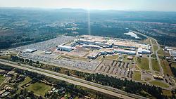 Foto aérea da General Motors de Gravataí FOTO: Jefferson Bernardes/ Agência Preview