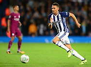 Kieran Gibbs of West Bromwich in action .Carabao Cup 3rd round match, West Bromwich Albion v Manchester City at the Hawthorns stadium in West Bromwich, Midlands on Wednesday 20th September 2017. pic by Bradley Collyer, Andrew Orchard sports photography.