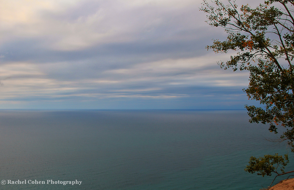 """""""Ethereal""""<br /> <br /> Sleeping Bear dunes view of a stormy Lake Michigan.<br /> <br /> The Great Lakes by Rachel Cohen"""