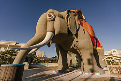 "Pack your trunk (err, bags)! Three lucky Airbnb guests and their friends will have the chance to stay inside Lucy the Elephant, one of the first and only National Historic Landmarks now on Airbnb. A tribute to the golden age of roadside Americana, Lucy was built in 1881 and is older than the Statue of Liberty and the Eiffel Tower in Paris.<br /> <br /> Starting on March 5, longtime Lucy fans - or anyone who has had the Jersey Shore on their travel bucket list - can book a stay inside Lucy's storied walls, which will take place on March 17, 18 or 19. Each of the three one-night overnight stays is priced at $138, to honour the number of years Lucy has served as a New Jersey Shore icon.<br /> <br /> Standing a regal six stories high, Lucy calls Margate, New Jersey, home - a tight-knit community that has proven its resilience in the aftermath of Hurricane Sandy, and that couldn't be prouder of its unofficial 'mascot.' Lucy hosted her first stay in 1902 and over the years, she's been a tavern and even hosted former United States President Woodrow Wilson.<br /> <br /> During the Airbnb stay - which is modelled after what Lucy's interior would have looked like when she was briefly a summer vacation home in the early 20th century - guests will take a journey through her fascinating history. They will also have the chance to experience the best of what the Jersey Shore has to offer, from delicious meals by top local chefs to scenic ocean views. And Lucy's human counterpart, Richard Helfant, Executive Director of the Save Lucy Committee - the organisation that restored and preserved Lucy for the past 50 years - will be on hand to share his memories of the majestic structure and offer local tips.<br /> <br /> To celebrate this historic stay, Airbnb will make a donation to the Save Lucy Committee, supporting efforts to keep Lucy the Elephant standing ""Jersey strong"" so new generations can visit for years to come. <br /> <br /> If you want to stay inside a piece of history that continues to invigorate the Jersey Shore,"
