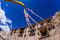 Shey Palace, Leh Valley, Ladakh, Jammu and Kashmir State, India.