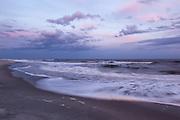 Surf at Dusk, Huntington Beach