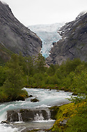 Briksdalsbreen is an arm of the great Jostedalsbreen Glacier, and located inside the Jostedalsbreen National Park.