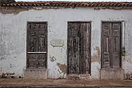 House in Gibara, Holguin, Cuba.