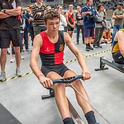 9:44 AM- APL #7- Men?s 2000m U16<br /> <br /> NZ Indoor Champs, raced at Avanti Drome, Cambridge, New Zealand, Saturday 23rd November 2019 © Copyright Steve McArthur / @rowingcelebration www.rowingcelebration.com