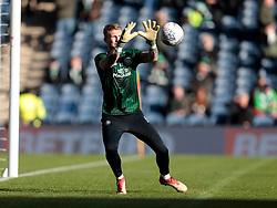 Celtic's Scott Bain starts against Heart of Midlothian in the Betfred Cup semi final match at BT Murrayfield Stadium, Edinburgh.