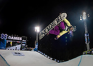 Chloe Kim at the Winter X Games in Aspen, Colorado.