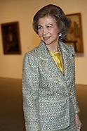 042613 queen sofia and dali exhibition