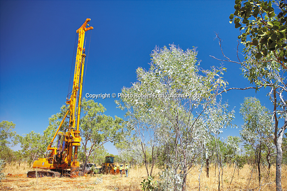Exploration rig in the Kimberley