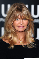 Goldie Hawn during a signing for her book '10 Mindful Minutes', at Waterstone's in Piccadilly, central London.