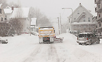 The first major snowstorm to hit the Lakes Region on January 12th dumps over 20 inches of snow.