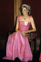 Diana, Princess of Wales in Brisbane, Australia in 1983.