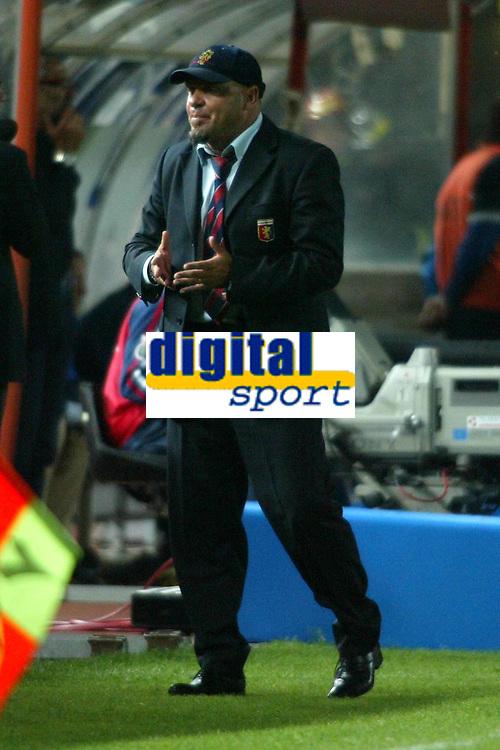Empoli 21-04-2005<br />Campionato di calcio serie b 2004-05 Empoli Genoa<br />Nella foto Cosmi<br />Foto Snapshot / Graffiti
